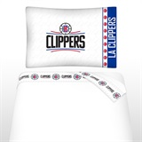 Los Angeles Clippers Micro Fiber Sheet Set Twin