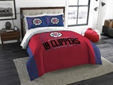 "Los Angeles Clippers NBA ""Reverse Slam"" Full/Queen Comforter"