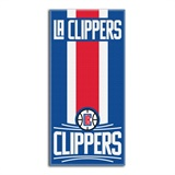 "Los Angeles Clippers NBA ""Zone Read""  Beach Towel"