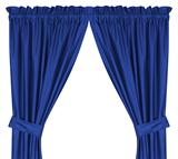 Los Angeles Dodgers  Drapes (Pair)