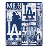 "Los Angeles Dodgers MLB ""Strength"" Fleece Throw"
