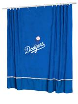 Los Angeles Dodgers MVP Shower Curtain