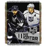 Los Angeles Kings NHL Anze Kopitar Woven Tapestry Throw