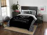 "Los Angeles Kings NHL ""Draft"" Full/Queen Comforter Set"