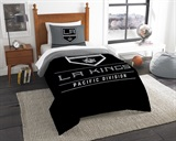 "Los Angeles Kings NHL ""Draft"" Twin Comforter Set"