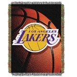 "Los Angeles Lakers NBA ""Photo Real"" Woven Tapestry Throw"
