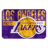 "Los Angeles Lakers NBA ""Worn Out"" Bath Mat"
