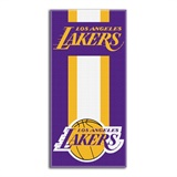 "Los Angeles Lakers NBA ""Zone Read""  Beach Towel"