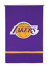 Los Angeles Lakers Sidelines Wall Hanging