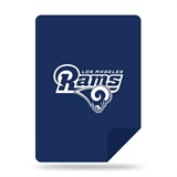 "Los Angeles Rams NFL ""Denali"" Sliver Knit Throw"