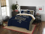"Los Angeles Rams NFL ""Draft"" Full/Queen Comforter Set"