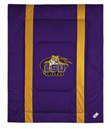 Louisiana St Tigers Sidelines Comforter