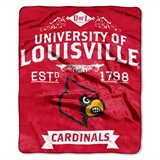 "Louisville ""Label"" Raschel Throw"