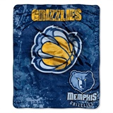"Memphis Grizzles NBA ""Dropdown"" Raschel Throw"