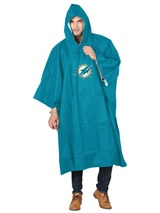 Miami Dolphins NFL Deluxe Poncho