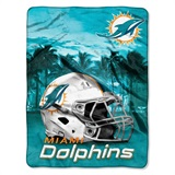 "Miami Dolphins NFL ""Heritage"" Silk Touch Throw"