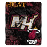 "Miami Heat NBA ""Dropdown"" Raschel Throw"