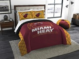 "Miami Heat NBA ""Reverse Slam"" Full/Queen Comforter"