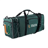 "Miami Hurricanes NCAA ""Steal"" Duffel"