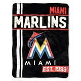 "Miami Marlins MLB ""Walk Off"" Micro Raschel Throw"