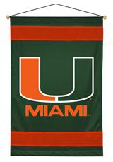 Miami Hurricanes Sidelines Wallhanging