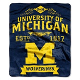 "Michigan ""Label"" Raschel Throw"