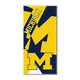 "Michigan ""Puzzle"" Oversized Beach Towel"