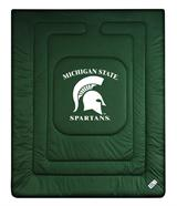 Michigan St Spartans Locker Room Comforter