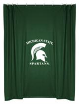 Michigan St Spartans  Shower Curtain