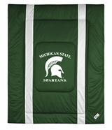 Michigan St Spartans Sidelines Comforter