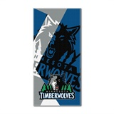 "Minnesota Timberwolves NBA ""Puzzle"" Oversized Beach Towel"