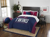 "Minnesota Twins MLB ""Grand Slam"" FullQueen Comforter Set"