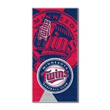 "Minnesota Twins MLB ""Puzzle"" Beach Towel"