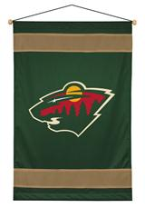 Minnesota Wild Sidelines Wallhanging