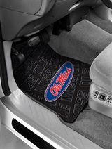 Mississippi Rebels Car Floor Mat Set