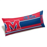 "Mississippi Rebels ""Seal"" Body Pillow"