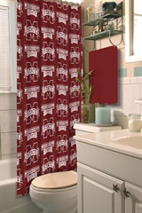 Mississippi State Bulldogs NCAA Shower Curtain