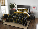 Missouri Tigers Full Comforter and Sham Set