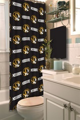 Missouri Tigers NCAA Shower Curtain
