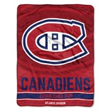 "Montreal Canadiens NHL ""Breakaway"" Micro Raschel Throw"