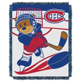 "Montreal Canadiens NHL ""Score Baby""Baby Woven Jacquard Throw"