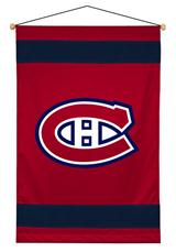 Montreal Canadiens Sidelines Wallhanging