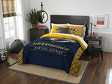 "Nashville Predators NHL ""Draft"" Full/Queen Comforter Set"