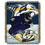 "Nashville Predators NHL ""Home Ice Advantage"" Woven Tapestry Throw"