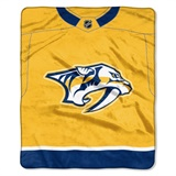 "Nashville Predators NHL ""Jersey"" Raschel Throw"