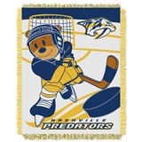 "Nashville Predators NHL ""Score Baby"" Baby Woven Jacquard Throw"