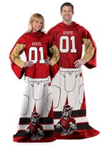 "NC State Wolfpacks NCAA ""Uniform"" Comfy Throw"