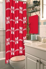 Nebraska Cornhuskers NCAA Shower Curtain