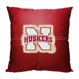 "Nebraska ""Letterman"" Pillow"