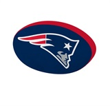 New England Patriots NFL Cloud Pillow